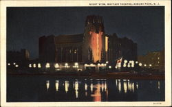 Night View Mayfair Theatre Postcard