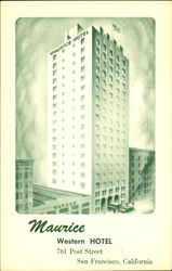 Maurice Western Hotel, 761 Post Street