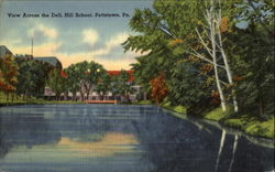 View Across The Dell High School