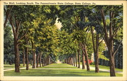 The Mall Looking South, The Pennsylvania State College