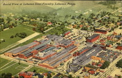 Aerial View Of Lebanon Steel Foundry