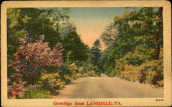 Greetings From Lansdale