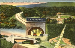 Scenes Along Pennsylvania Wonder Highway