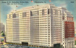 Penna. R. R. Suburban Station Bldg, 16th and Arch Streets
