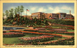 Italian Gardens And Wm. Penn High School