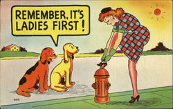 Remember It's Ladies First!