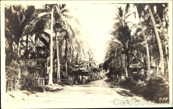1923 Scene in Manila Philippines Southeast Asia