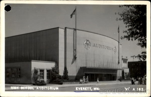 High School Auditorium Everett Washington