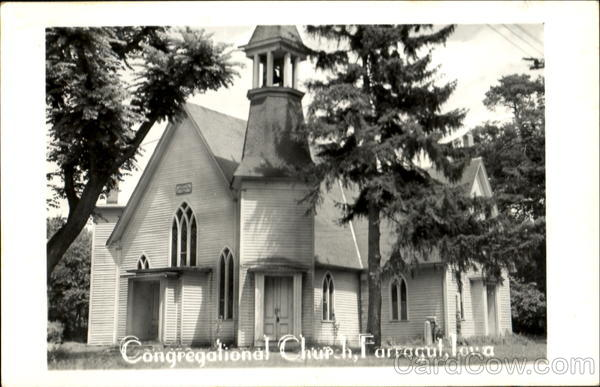 Congregational Church Farragut Iowa