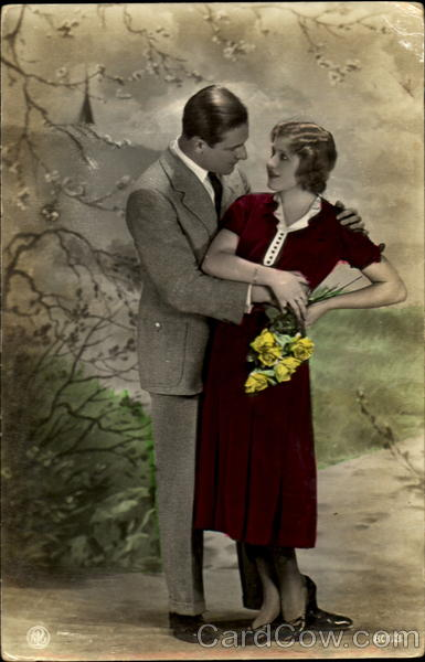 Hand Tinted Color Romance & Love