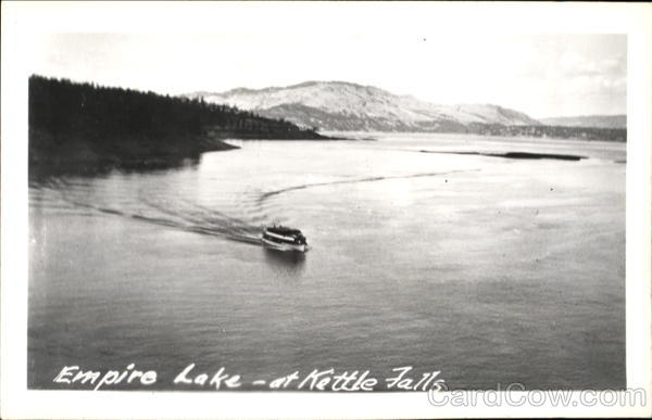Empire Lake At Kettle Falls Scenic Washington