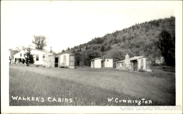Walker's Cabin W. Cummington Massachusetts