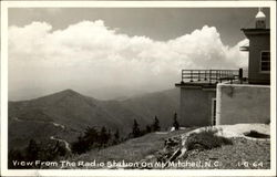 View From The Radio Station On Mt. Mitchell
