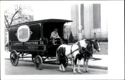 Lammert Furniture Co. Delivery Wagon