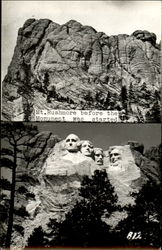 Mt. Rushmore Before and After