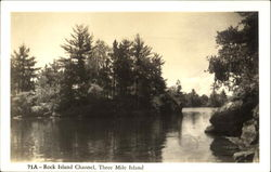Rock Island Channel, Three Mile Island