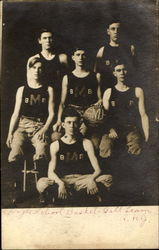 1906 High School Basket Ball Team