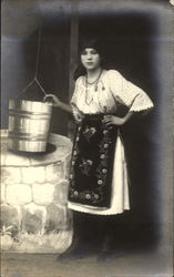 Studio - Woman at Well, Ethnic