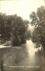 Streight River Postcard