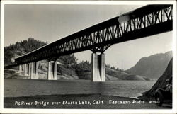 Pit River Bridge Over Shasta Lake