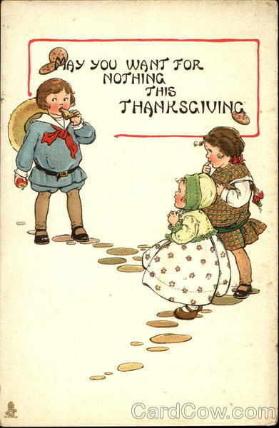May You Want For Nothing This Thanksgiving Children