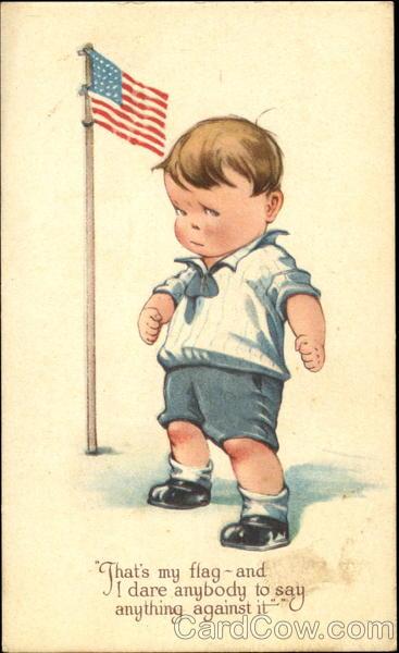 Patriotic Boy Charles Twelvetrees