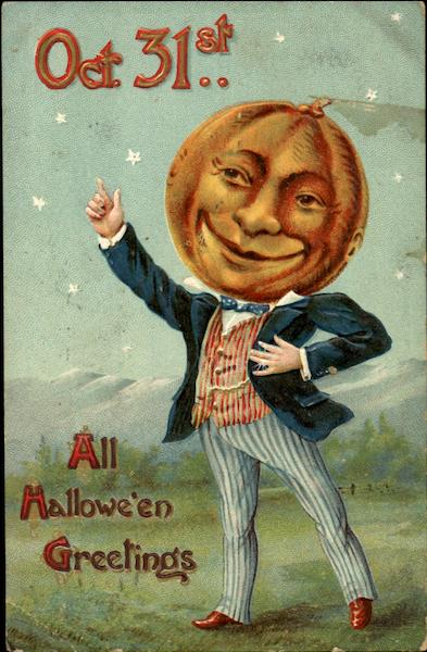 Oct. 31St All Halloween Greetings