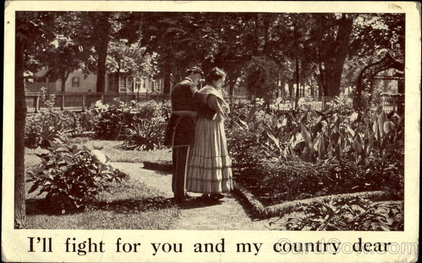 I'll Fight For You And My Country Dear Valentines Day
