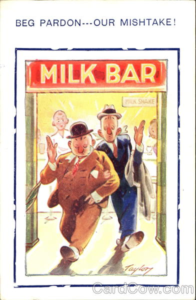 Milk Bar Comic, Funny