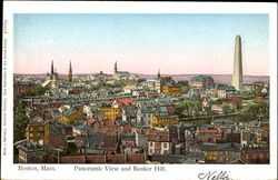 Panoramic View And Bunker Hill