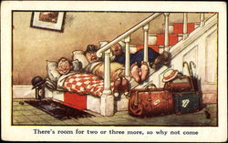 There's Room For Two Or Three More So Why Not Come Postcard