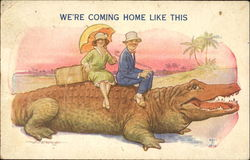 We're Coming Home Like This Postcard