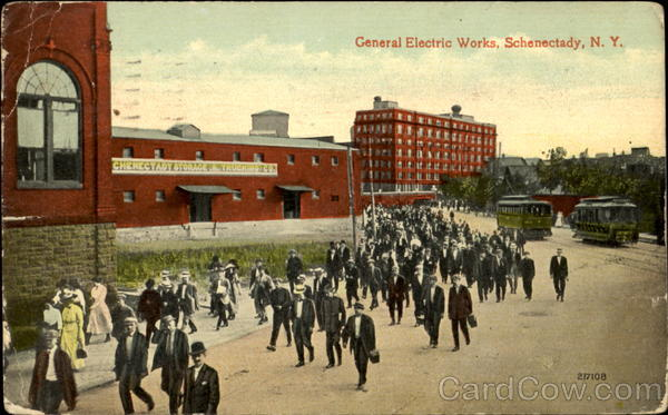 General Electric Works Schenectady Ny
