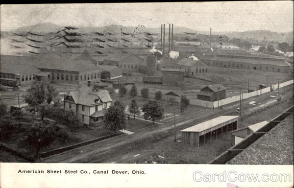 American Sheet Steel Co. Canal Dover Ohio