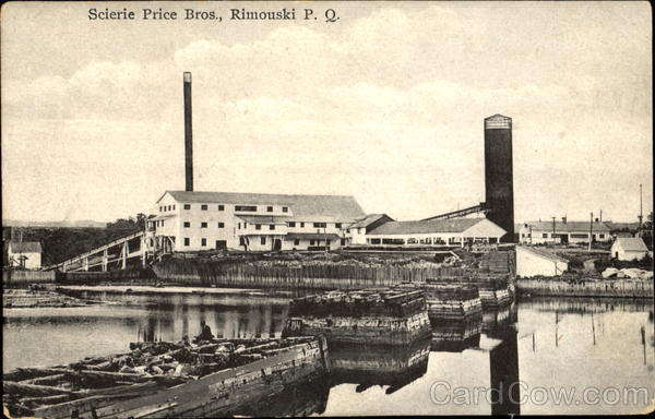 Scierie Price Bros. Rimouski Canada Quebec