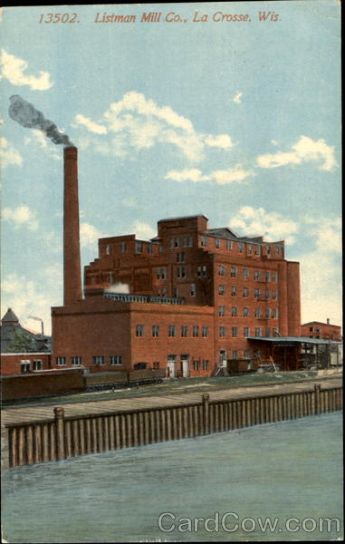 Listman Mill Co. La Crosse Wisconsin