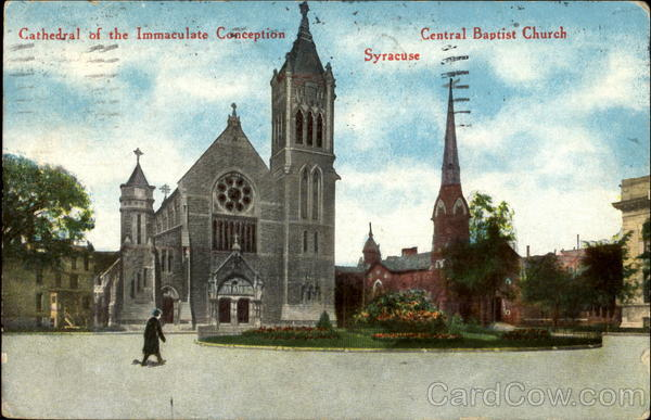 Cathedral Of The Immaculate Conception Syracuse New York