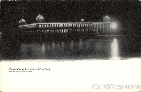 Illumination Of The Casino Asbury Park New Jersey