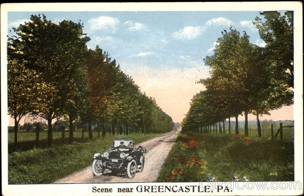 Scene Near Greencastle Pennsylvania