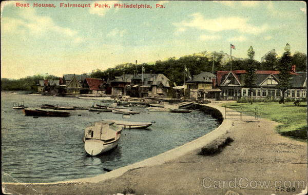 Boat Houses, Fairmount Park Philadelphia Pennsylvania