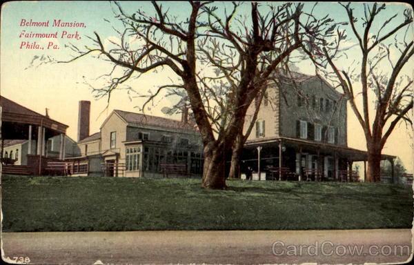 Belmont Mansion Fairmount Park Philadelphia Pa
