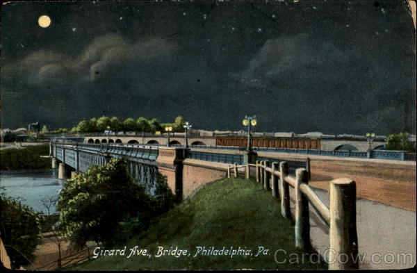 Girard Ave. Bridge Philadelphia Pennsylvania
