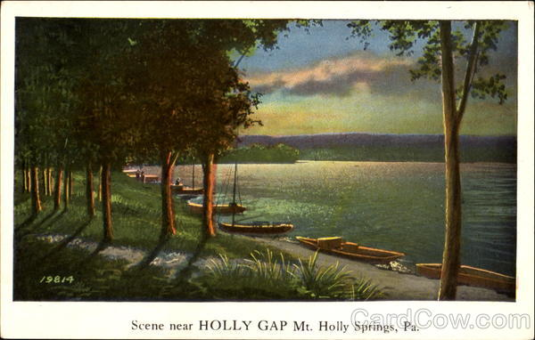 Scene Near Holly Gap Mt. Holly Springs Pennsylvania