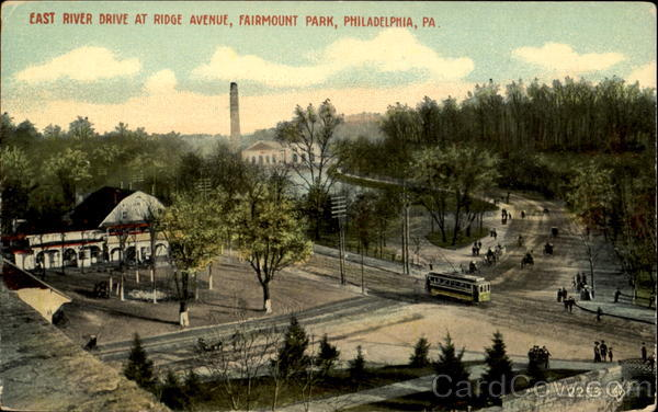 East River Drive At Ridge Avenue, Fairmount Park Philadelphia Pennsylvania