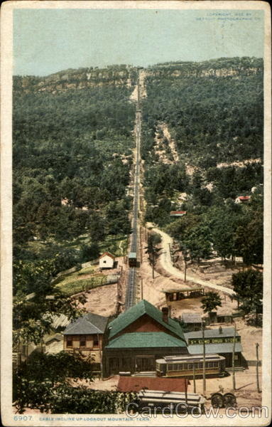 Cable Incline Up Lookout Mountain Chattanooga Tennessee