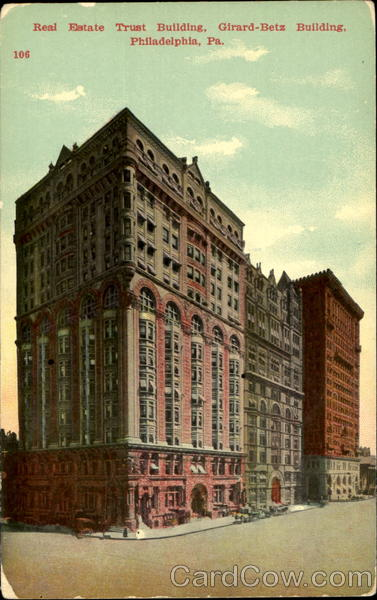 Real Estate Trust Building Philadelphia Pennsylvania