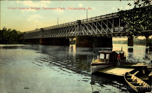 Girard Avenue Bridge, Fairmount Park Philadelphia Pennsylvania