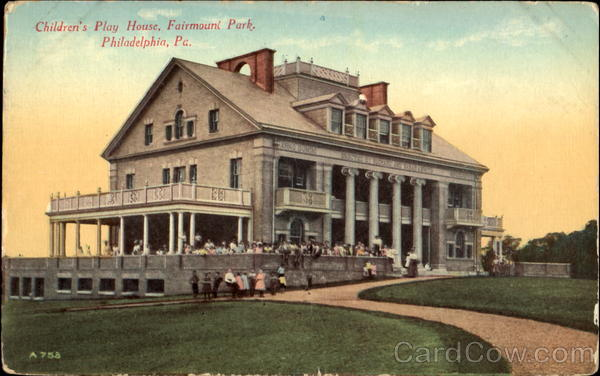 Children's Play House, Fairmount Park Philadelphia Pennsylvania