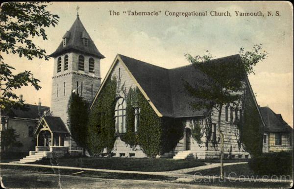The Tabernacle Congregational Church Yarmouth Canada