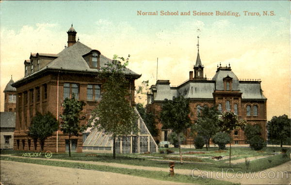 Normal School And Science Building Truro Canada Nova Scotia